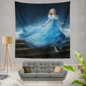 Cinderella Movie Lily James Wall Hanging Tapestry