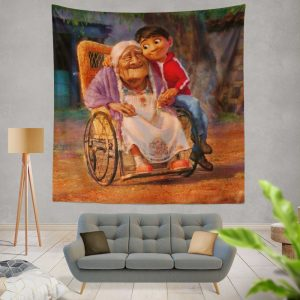 Coco Movie Mystery Kids Wall Hanging Tapestry