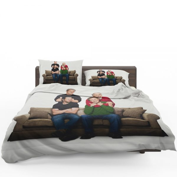 Daddy's Home 2 Movie John Lithgow Mark Wahlberg Mel Gibson Will Ferrell Bedding Set 1