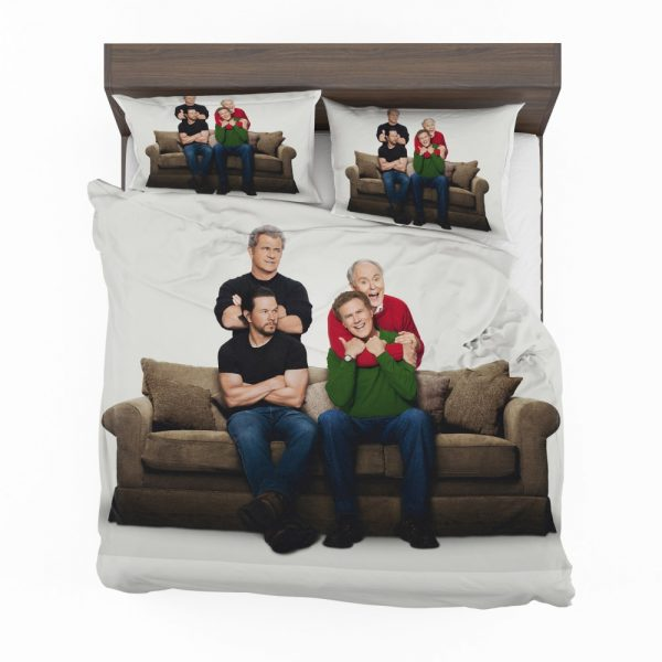 Daddy's Home 2 Movie John Lithgow Mark Wahlberg Mel Gibson Will Ferrell Bedding Set 2