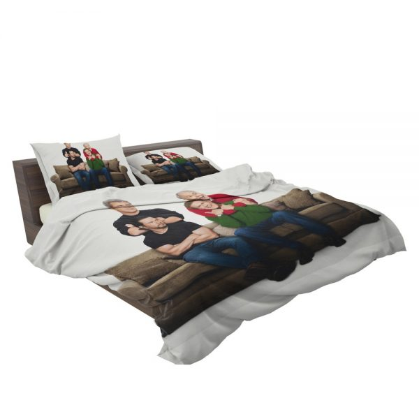 Daddy's Home 2 Movie John Lithgow Mark Wahlberg Mel Gibson Will Ferrell Bedding Set 3