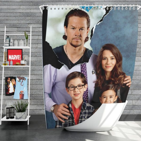 Daddy's Home Movie Shower Curtain