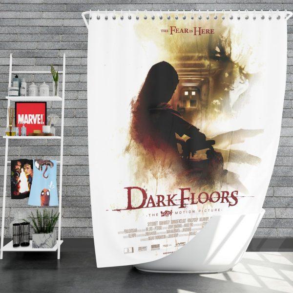 Dark Floors Movie Shower Curtain