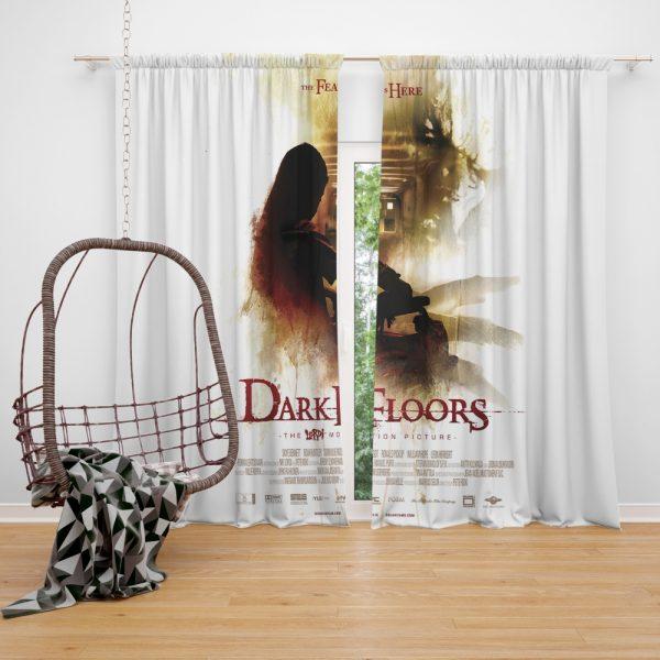Dark Floors Movie Window Curtain