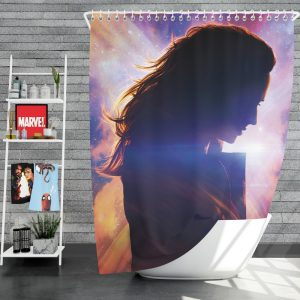 Dark Phoenix Movie Jean Grey Marvel Comics Shower Curtain