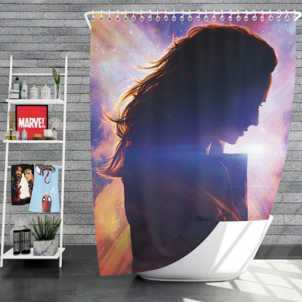 Dark Phoenix Movie Jean Grey Marvel Comics Shower Curtain