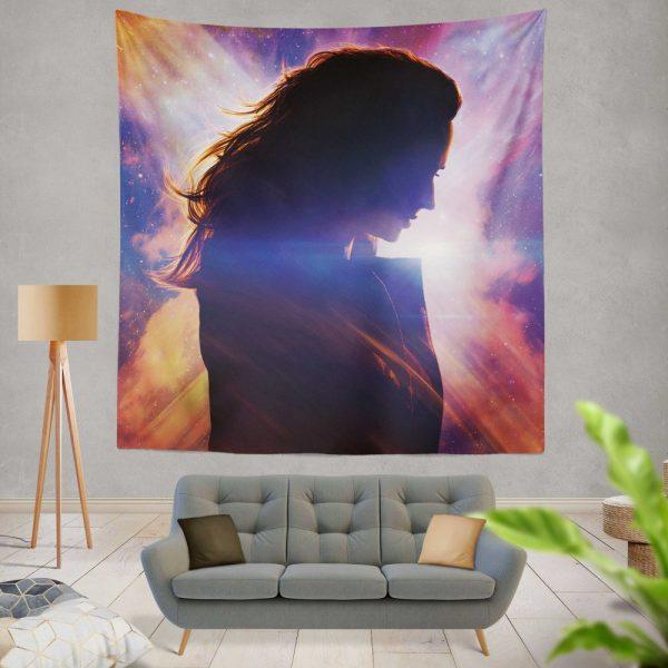 Dark Phoenix Movie Jean Grey Marvel Comics Wall Hanging Tapestry