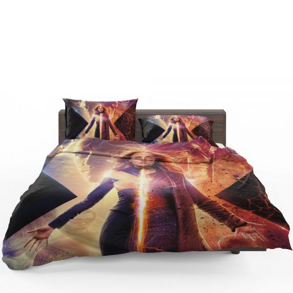 Dark Phoenix Movie Sophie Turner X-Men Bedding Set 1