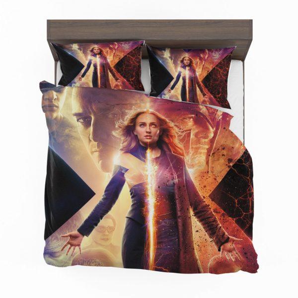 Dark Phoenix Movie Sophie Turner X-Men Bedding Set 2