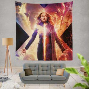 Dark Phoenix Movie Sophie Turner X-Men Wall Hanging Tapestry