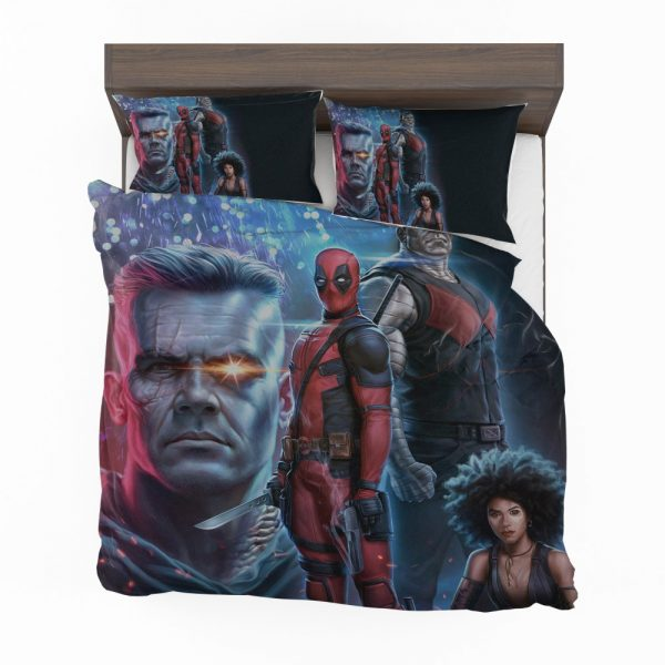 Deadpool 2 Movie Cable Domino Bedding Set 2