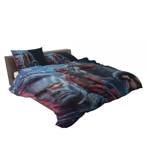Deadpool 2 Movie Cable Domino Bedding Set 3