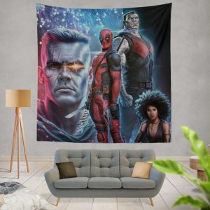 Deadpool 2 Movie Cable Domino Wall Hanging Tapestry