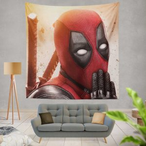 Deadpool 2 Movie Marvel Wall Hanging Tapestry