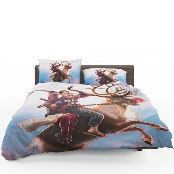 Deadpool 2 Movie Once Upon A Deadpool Bedding Set 1