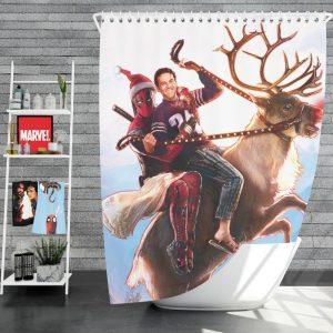 Deadpool 2 Movie Once Upon A Deadpool Shower Curtain