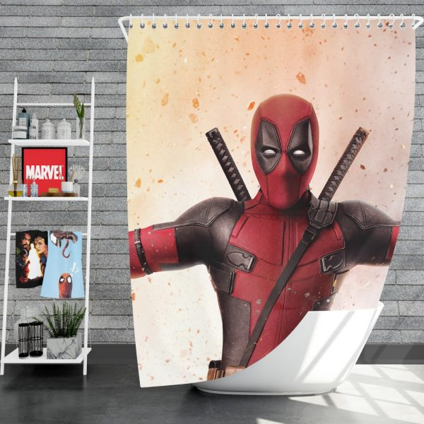 Deadpool 2 Movie Shower Curtain
