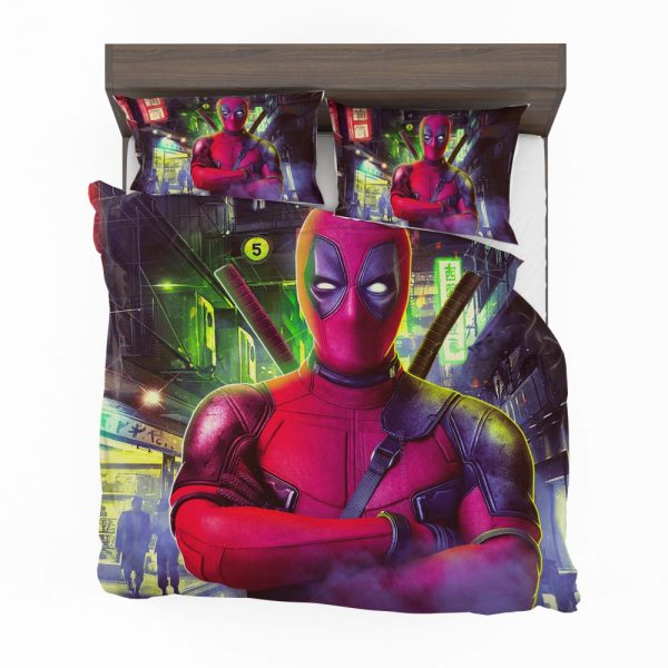 Deadpool 2 Movie Wade Wilson Bedding Set 2