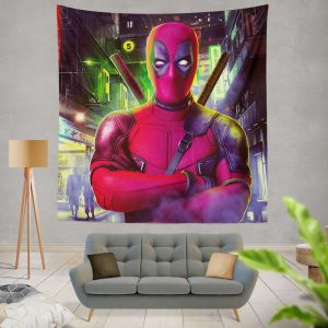 Deadpool 2 Movie Wade Wilson Wall Hanging Tapestry