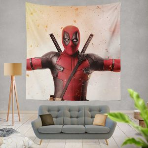 Deadpool 2 Movie Wall Hanging Tapestry