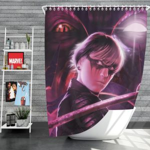 Demon Hunter Movie Shower Curtain
