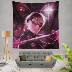 Demon Hunter Movie Wall Hanging Tapestry