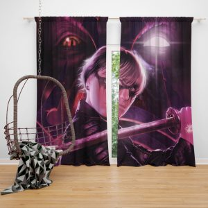 Demon Hunter Movie Window Curtain