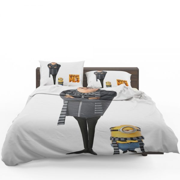 Despicable Me 3 Movie Gru Stuart Bedding Set 1