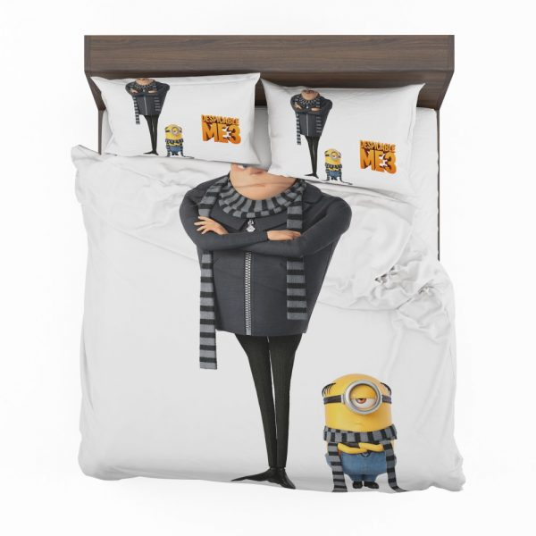 Despicable Me 3 Movie Gru Stuart Bedding Set 2