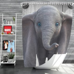 Disney Kids Dumbo 2019 Movie Shower Curtain