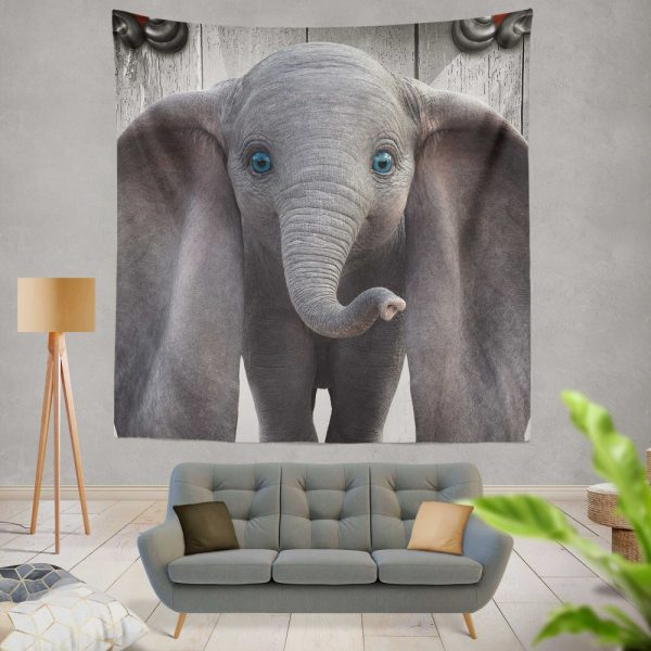 Disney Kids Dumbo 2019 Movie Wall Hanging Tapestry