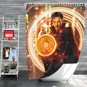 Doctor Strange Movie Benedict Cumberbatch Shower Curtain