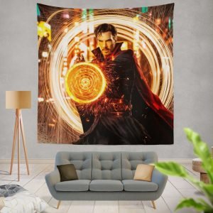 Doctor Strange Movie Benedict Cumberbatch Wall Hanging Tapestry