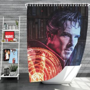 Doctor Strange Movie Fantasy Sci-fi Shower Curtain