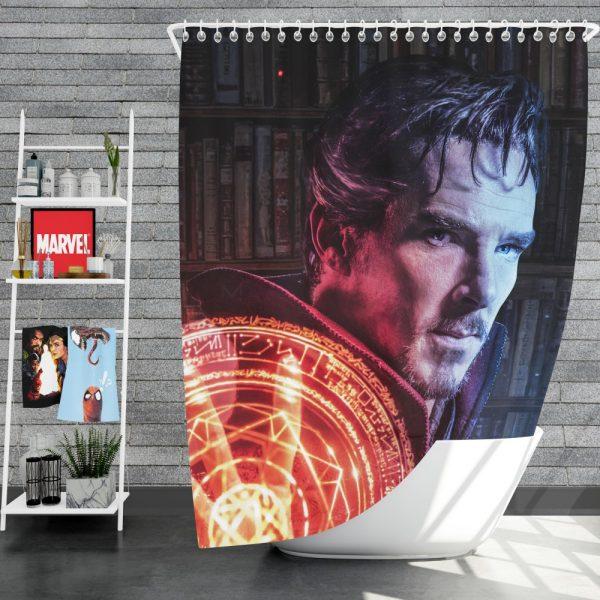 Doctor Strange Movie Fantasy Sci-fi Shower Curtain