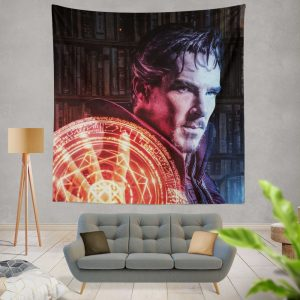 Doctor Strange Movie Fantasy Sci-fi Wall Hanging Tapestry
