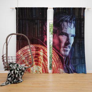 Doctor Strange Movie Fantasy Sci-fi Window Curtain