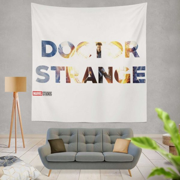 Doctor Strange Movie Wall Hanging Tapestry