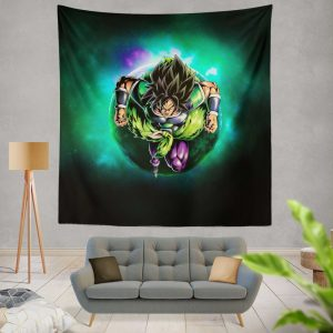 Dragon Ball Super Broly Movie Wall Hanging Tapestry