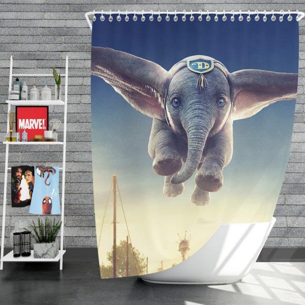 Dumbo 2019 Movie Shower Curtain