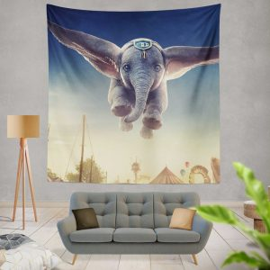 Dumbo 2019 Movie Wall Hanging Tapestry