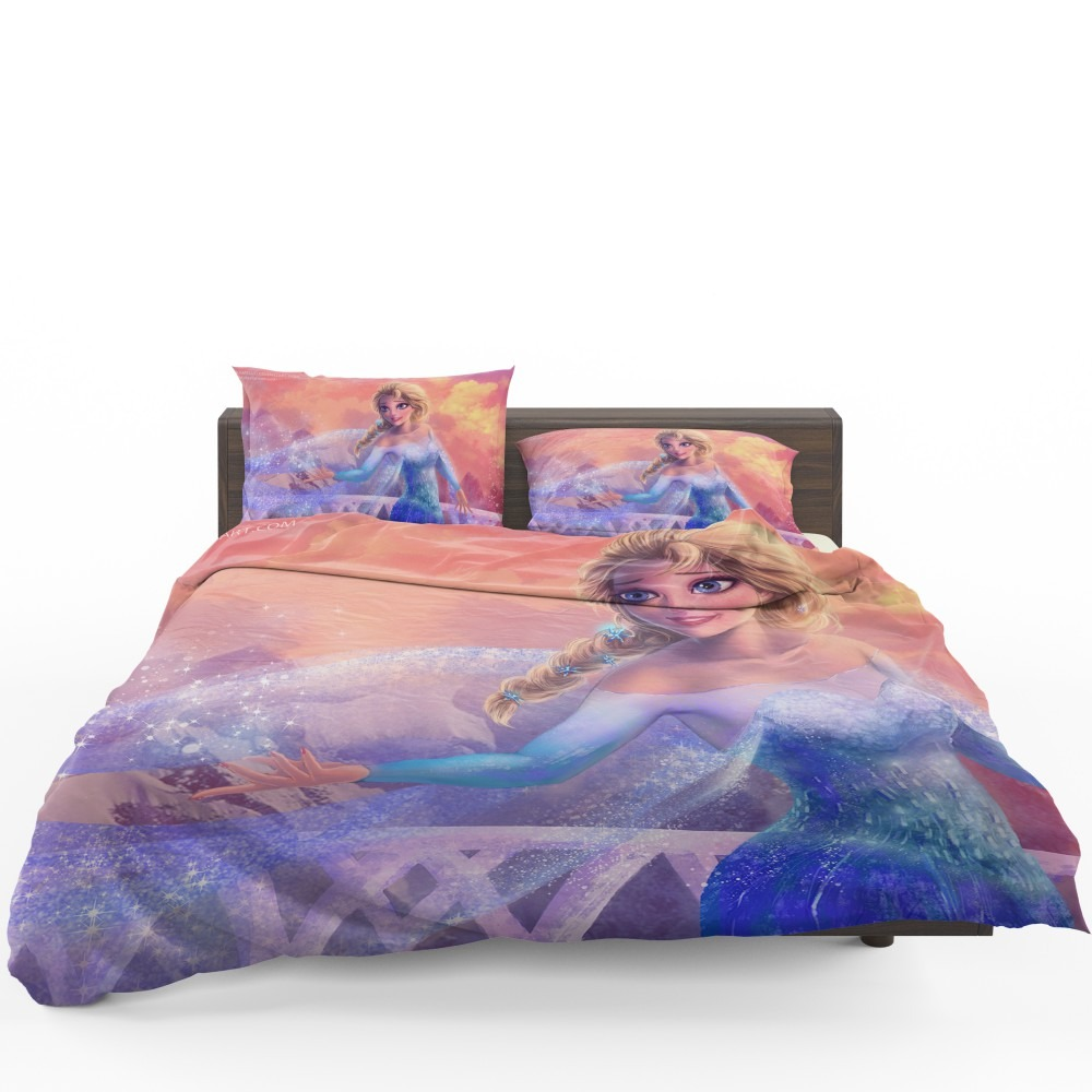 Elsa In Frozen 2 Movie Bedding Set Ebeddingsets