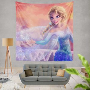 Elsa in Frozen 2 Movie Wall Hanging Tapestry