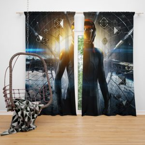 Enders Game Movie Window Curtain