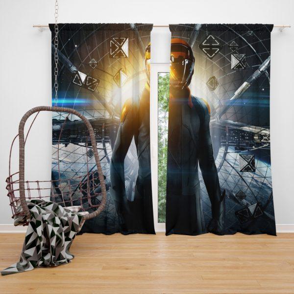 Enders Game Movie Window Curtain