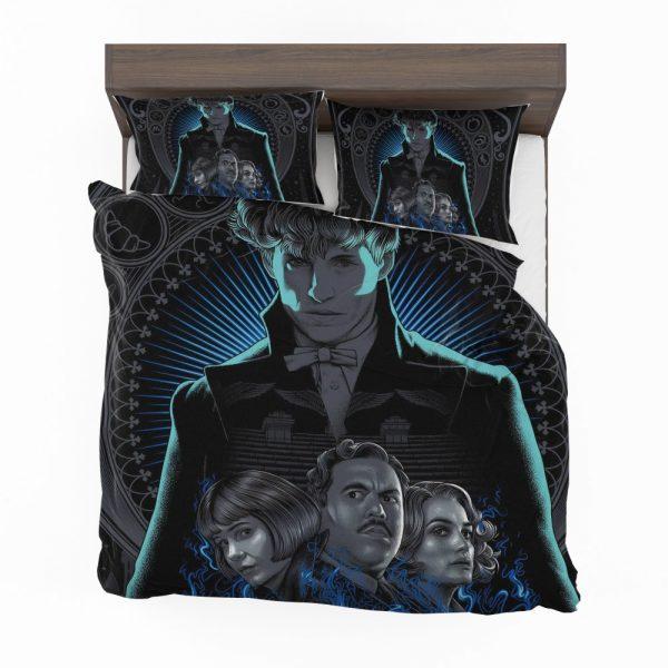 Fantastic Beasts The Crimes of Grindelwald Movie Eddie Redmayne Katherine Waterston Bedding Set 2