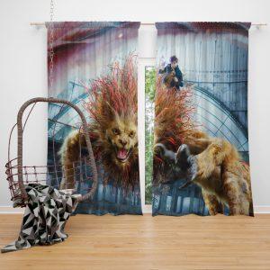 Fantastic Beasts The Crimes of Grindelwald Movie Eddie Redmayne Window Curtain