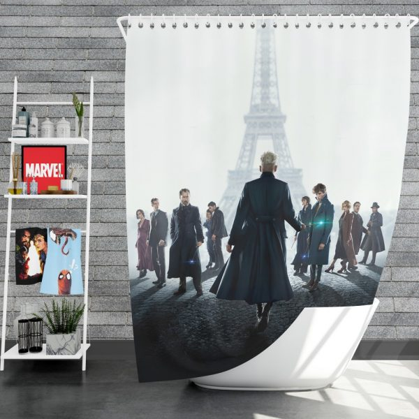 Fantastic Beasts The Crimes of Grindelwald Movie Shower Curtain