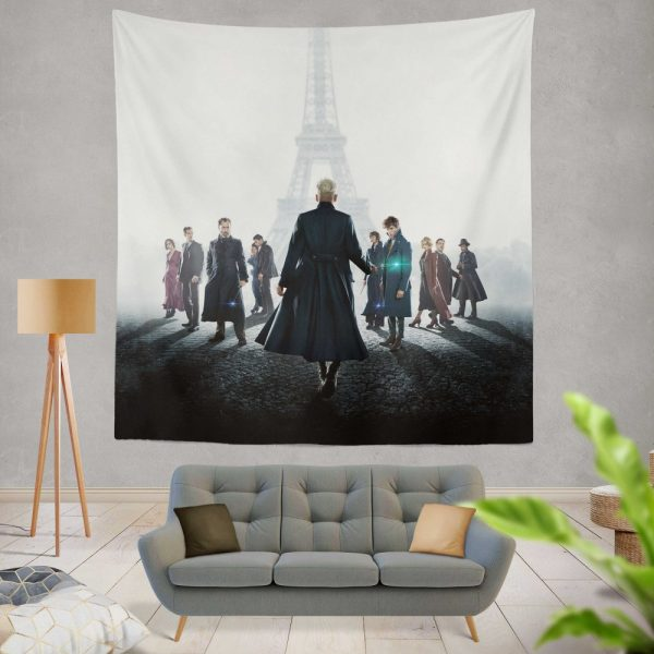 Fantastic Beasts The Crimes of Grindelwald Movie Wall Hanging Tapestry