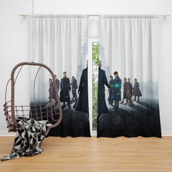Fantastic Beasts The Crimes of Grindelwald Movie Window Curtain
